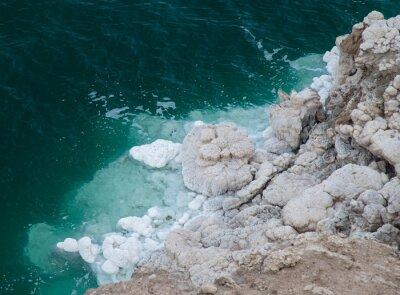 Salt growths near Dead Sea