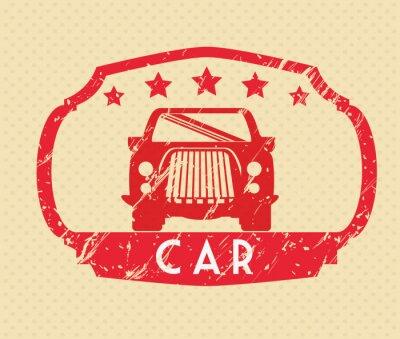 Obraz Samochody projekt koncepcyjny