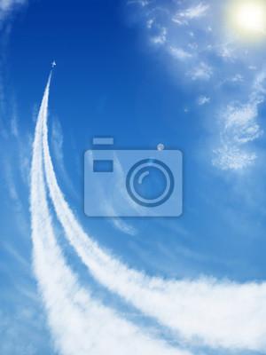 Obraz Samolot do nieba