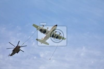 Samolot i helikopter