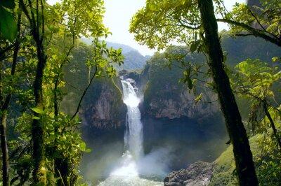 Obraz San Rafael Falls. Największy wodospad w Ekwadorze