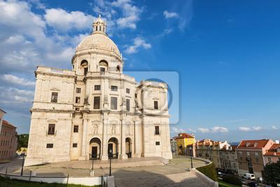 Santa Engracia Kościół lub Panteon Narodowy w Lizbonie, Portugalia