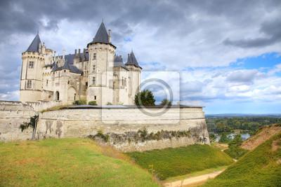 Saumur chateau, Francja