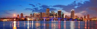 Obraz Scena nocy Miami