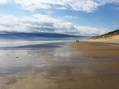 Obraz Scenic View Of Beach Against Sky
