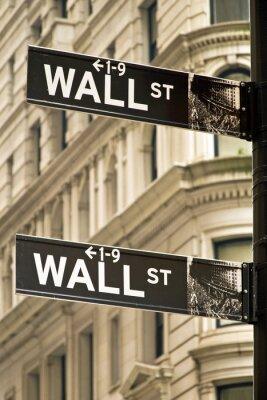 Obraz Ścienne znaki drogowe w Nowym Jorku