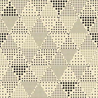 Obraz Seamless abstract modern triangle geometric pattern