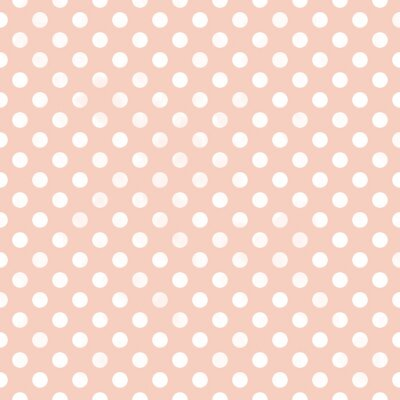 Obraz Seamless polka dot pattern