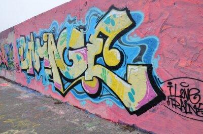 Obraz Segment de mur wyborem Berlinie