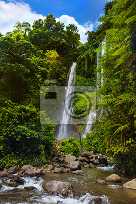 Sekumpul waterfall - Bali island Indonesia