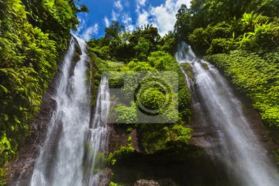 Sekumpul wodospad - wyspa Bali Indonezja