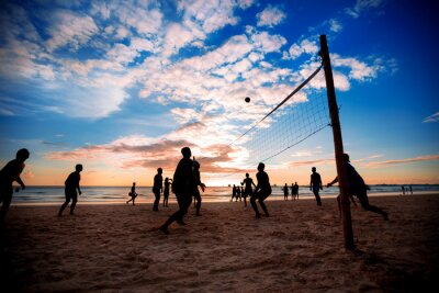 Obraz Siatkówka plażowa