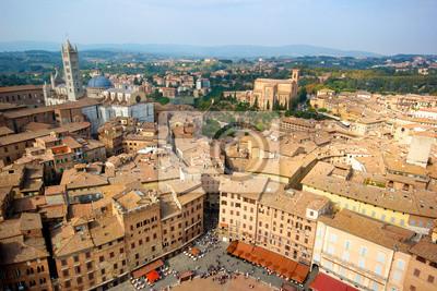 Siena dall'alto, Italia