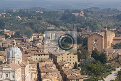 Siena, vista aerea