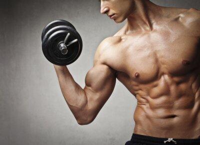 Obraz siłownia