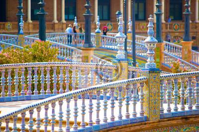 Siviglia, Plaza de Espana - Spagna