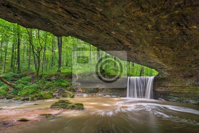 Skała Odpoczynek Falls Amfiteatr