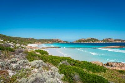 Obraz Skały na plaży, szczęśliwy Bay, Esperance, Australia Zachodnia