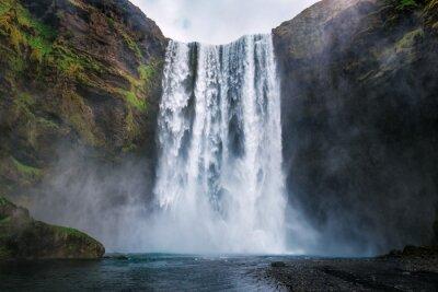 Obraz skogafoss waterfall in Iceland