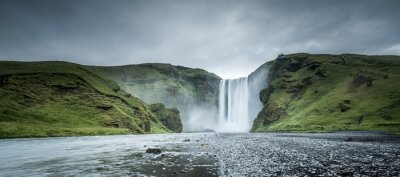 Obraz Skogafoss waterfall in Winter, Iceland