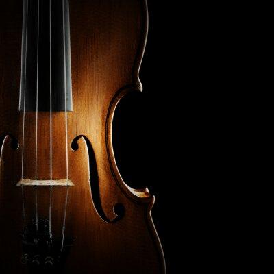 Obraz Skrzypce orkiestra instrumentów muzycznych