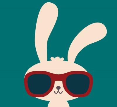 Obraz Śliczne Rabbit - Plik Vector EPS10