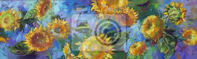 Obraz słonecznik