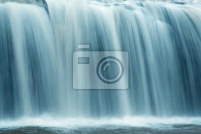 Obraz slow motion wodospad