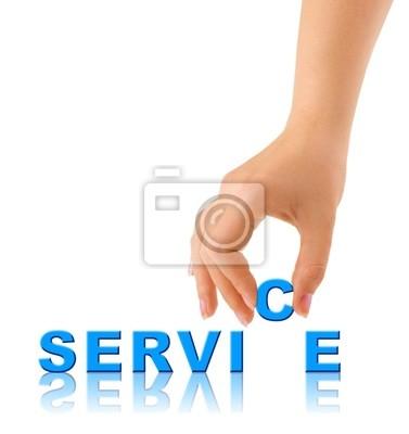 Słowo rąk i usługi
