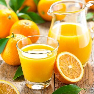 Obraz Sok pomarańczowy