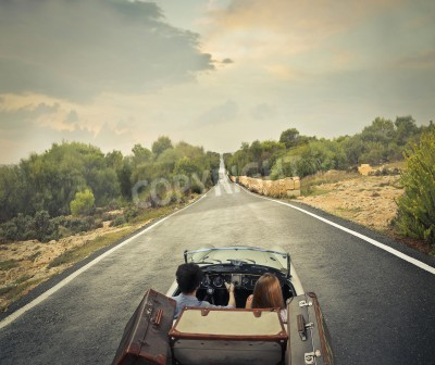 Obraz Solitary drogi