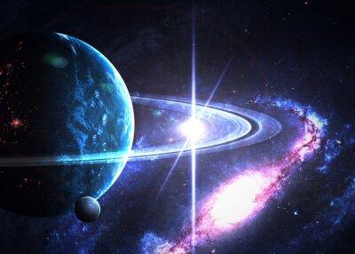 Obraz Space tle