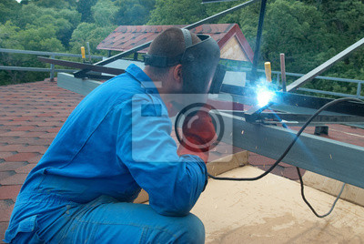 Spawacz pracy z konstrukcji metalowych