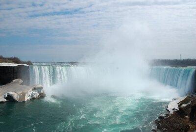Obraz Spektakularny Niagara w zimie.