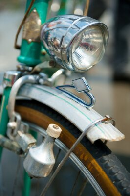 Obraz Stare retro rower