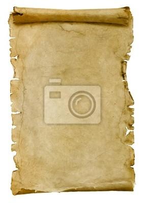 stary arkusz papieru