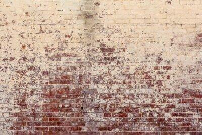 Obraz Stary ceglany mur w tle