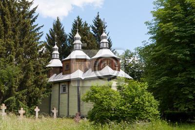 Stary drewniany kościół