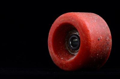 Obraz Stary vintage Consumed Skate Wheel