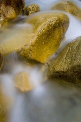 stones in run of mountain brook