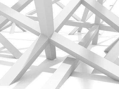 Obraz Streszczenie Futurystyczny Architektura Design Element Tła