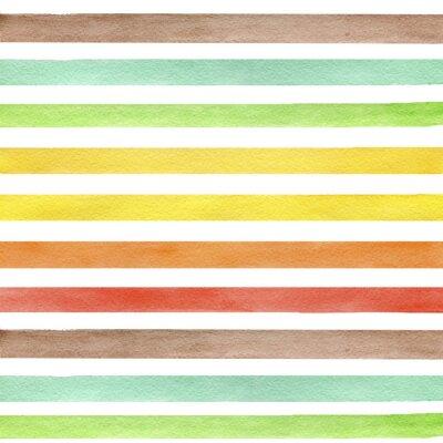 Obraz Streszczenie grunge szwu. Paski na białym tle.