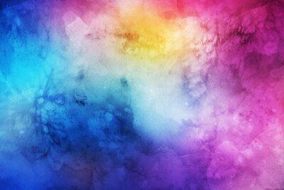 Obraz Streszczenie kolorowe tło akwarela do projektowania graficznego
