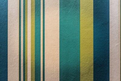 Obraz Streszczenie kolorowe tło z rocznika paskiem wzór na ścianie