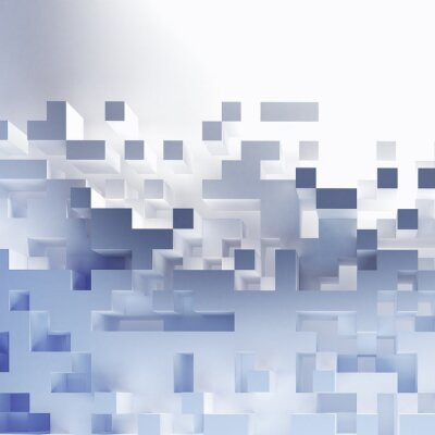 Obraz Streszczenie tapety kostki