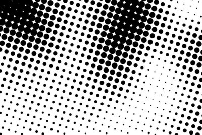 Obraz Streszczenie tle z czarnymi kropkami.