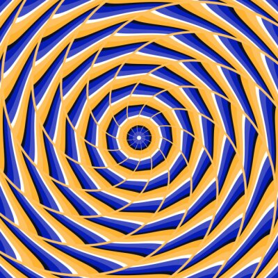 Obraz Streszczenie wektora złudzenie optyczne tła.