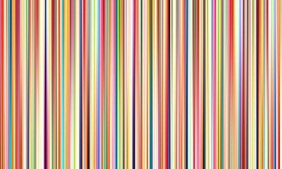 Obraz Streszczenie wielokolorowe rozmyte linie na szerokim tle