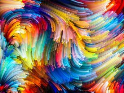 Obraz Strumień Kolor