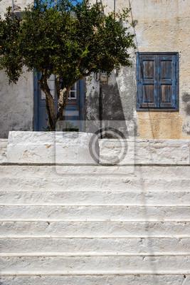 Stufen zu Fenster